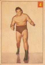 1954-55 Parkhurst Wrestling Trading Cards