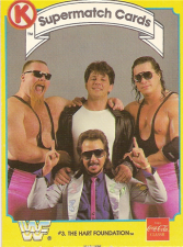 1987 WWF Circle K Supermatch Cards