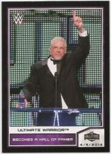 2014 WWE Topps Road To Wrestlemania