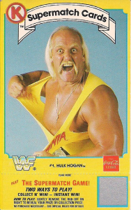 1987 WWF Circle K Supermatch Cards