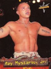 1999 WCW Topps Embossed