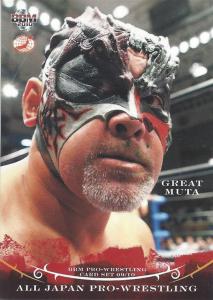 2009-2010 BBM All Japan Pro Wrestling (Japan)