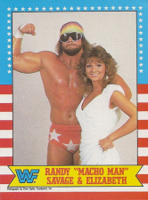 1987 WWF Topps Wrestling Cards