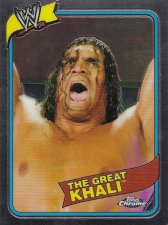 2008 WWE Topps Heritage 3 Chrome Edition