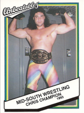 1993 Mid-South Wrestling Cards