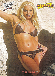 2002 WWF Fleer Divas Magazine Cards