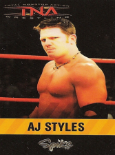 2006 TNA Spike T.V. Promotional Trading Cards