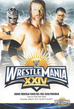 2008 WWE Wrestlemania XXIV Fan Axxess Tour Post Cards