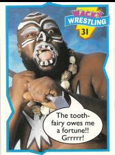 1993 Topps Wacky Wrestling Cards (Ireland)