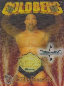 1999 WCW Little Caesars Lenticular Cards