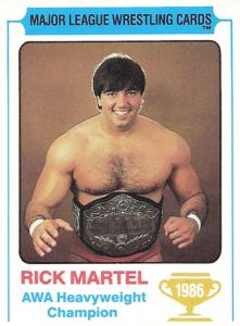 1986 Carnation Major League Wrestling Cards