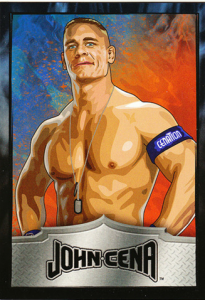 2010 WWE Topps Dog Tag Cards – Pyrotechno Edition