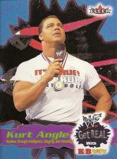 2001 WWF Fleer Get Real (KB Toys)