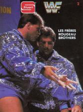 1987 WWF Stuart Wrestling Cards