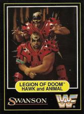 1991 WWF Swanson Wrestling Cards