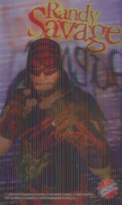 1998 WCW American Pop 3D Trading Cards