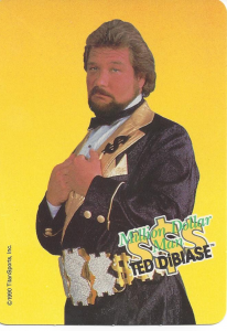 1990 WWF Wrestling Challenge Game Cards
