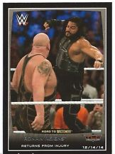 2015 WWE Topps Road To Wrestlemania