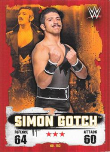 2016 WWE Topps Slam Attax Takeover (U.K.)
