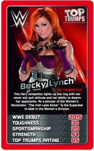 2017 WWE Top Trumps Card Game