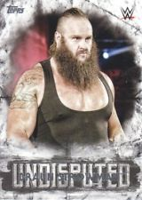2018 WWE Topps Undisputed