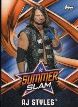 2017 WWE Topps On Demand Summer Slam 2017