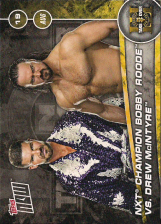 2017 WWE Topps Now NXT Takeover Brooklyn III Matches