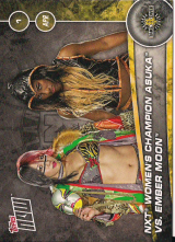 2017 WWE Topps Now Countdown to NXT Takeover Orlando