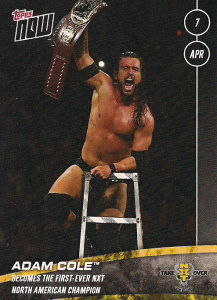 2018 WWE Topps Now NXT (Series 2)