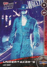 2016/2017 WWE Topps Now