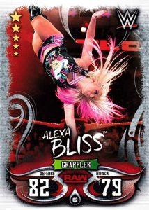 2018 WWE Topps Slam Attax Live (U.K.)