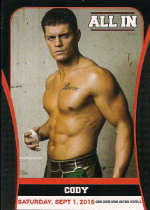 2018 Ring Of Honor All In Trading Cards