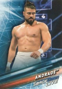 2019 WWE Topps Smackdown Live