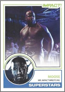2019 Impact Wrestling Cards
