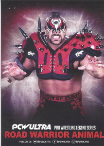 2018-2021 PCW Ultra Wrestling Cards