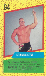 1991 WCW Cromy Luchadores Game Cards