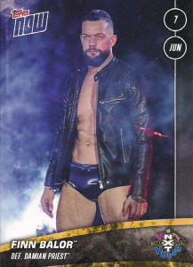 2020 WWE Topps Now NXT (Series 4)