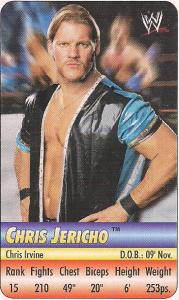 2004 WWE Cadbury Dairy Milk Cards (India)