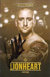 2016-2017 Golden Stars Wrestling Cards (U.K.)