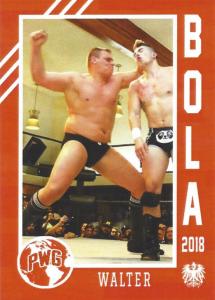 2018 PWG BOLA Wrestling Cards