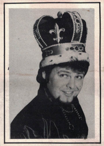 1983 Jerry Lawler Official Wrestling Cards