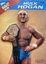 1985 WWF Topps 3-D Pro Wrestling Stars