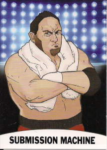2018 Pro Wrestling Loot Series 2 Caricature cards