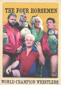 2020 LJA Cards On Demand Nighthawk Cigar Wrestling Cards