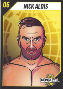 2020 NWA Powerrr Card Series 1