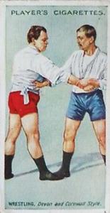 1913 Player's Cigarettes Wrestling & Ju-Jitsu Cards (U.K.)