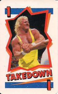 1990 WWF Milton Bradley Card Game Series