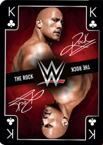 2017 WWE Wrestlemania Playing Cards (U.K.)