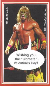 1991 WWF Valentine's Day Cards
