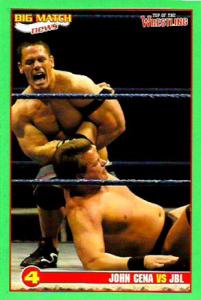 2005 WWE Big Match News Wrestling Cards